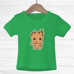 Camiseta Árbol Groot Infantil